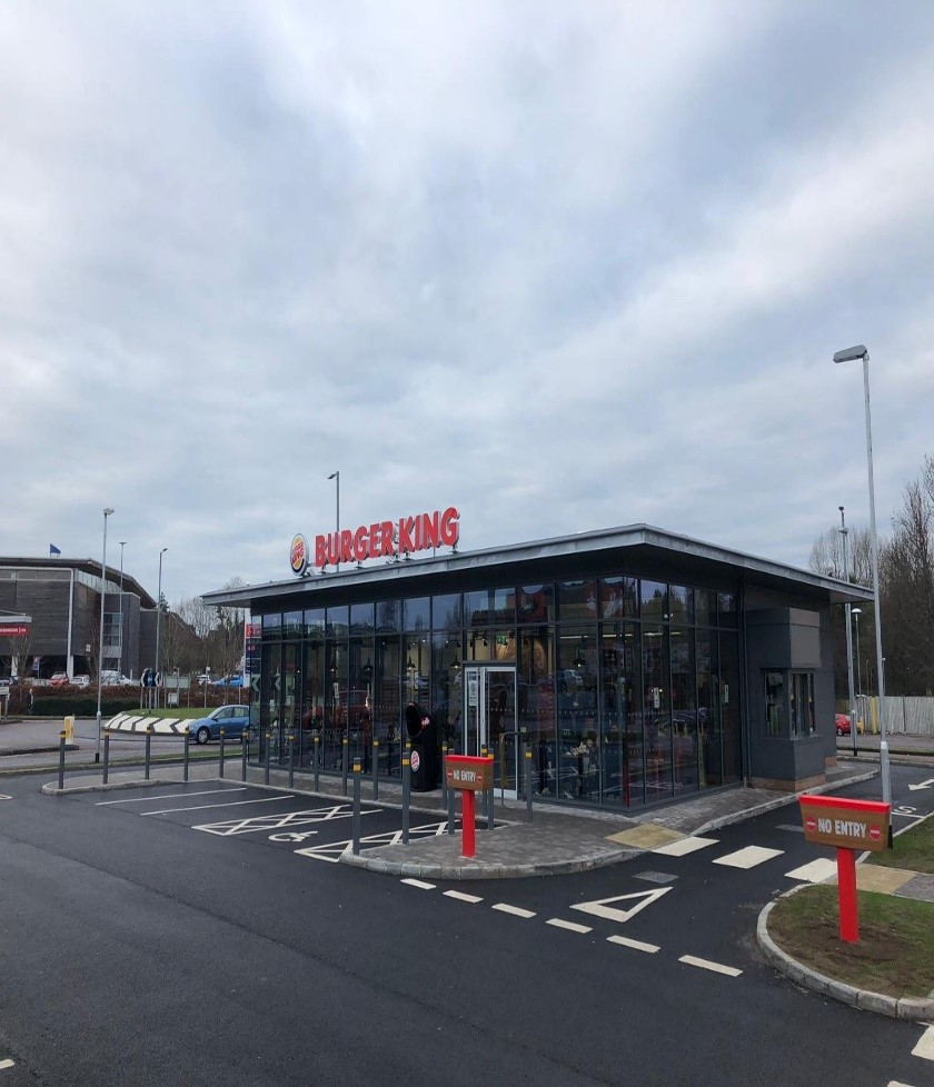 Marlborough Retail Park Pods